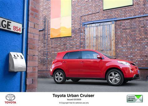 toyota full site new toyota urban cruiser full uk media resources now
