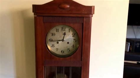 gustav becker antique working gustav becker wall regulator clock vintage
