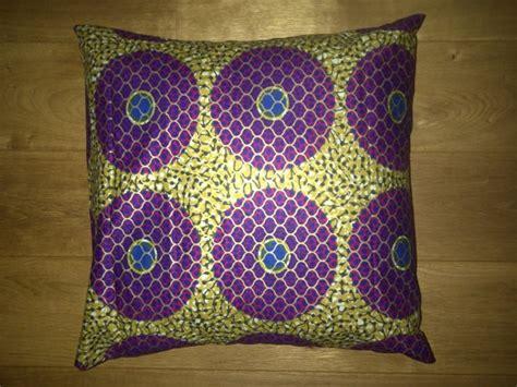 xnasozi bull s eye african wax print pillow covers blue purple gold bull s eye circles african print pillow