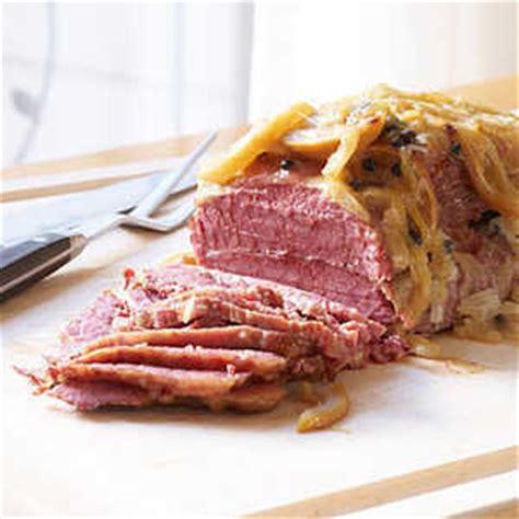 easy corned beef brisket recipe oven braised corned beef brisket recipe myrecipes