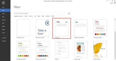artikel layout download posting artikel blog melalui microsoft office word 2013