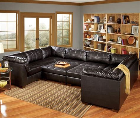 u shaped couch with recliner san marco 10 piece u shaped sectional by signature design