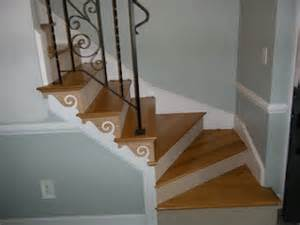 Stair Trim Stringer by Trimming Out Stairway With Wall Stringers Carpentry
