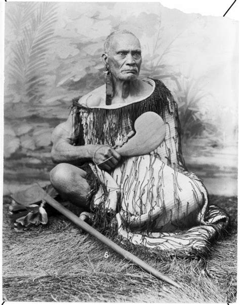 44 Captivating Native Maori Portraits From 19th Century