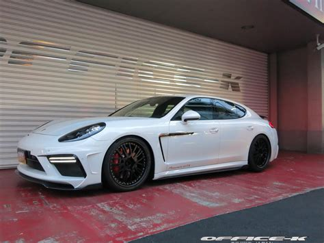 porsche panamera gts 2015 new porsche panamera gts customized by office k in japan