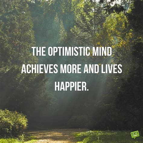 optimistic quotes optimistic quotes and sayings