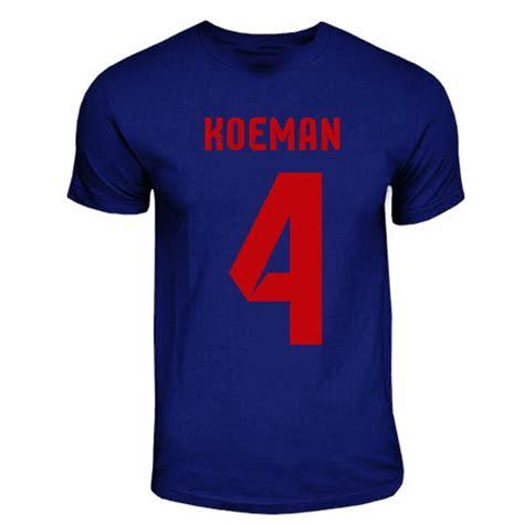 Kaos T Shirt Ronald Koeman ronald koeman barcelona t shirt navy