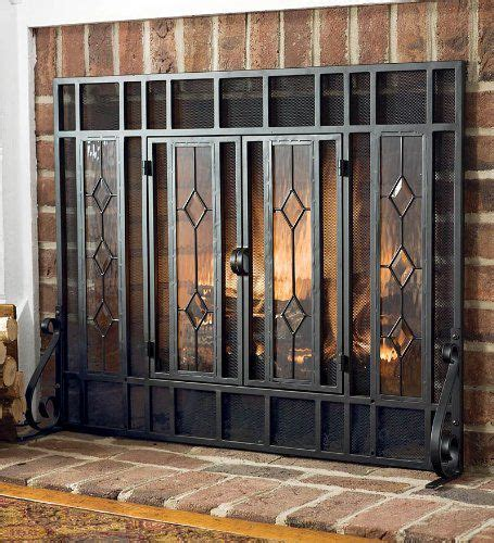 Fireplace Glass Panels by Glass Fireplace Screen Free Standing Feel The Home