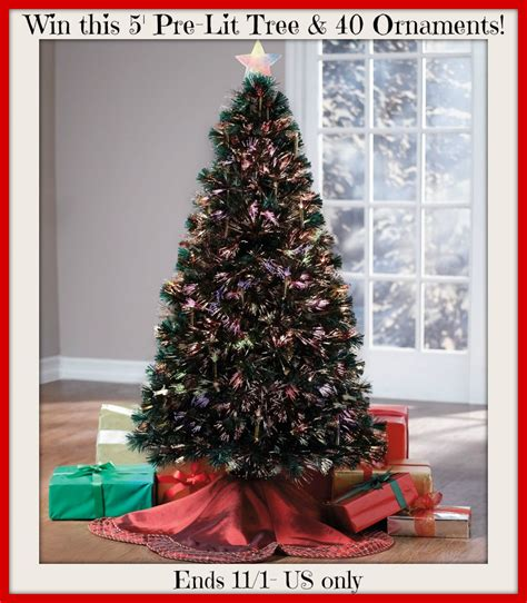Brylane Home Christmas Decorations 40k Giveaway Win A 5 Pre Lit Tree And 40 Mystery