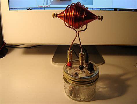 Tesla Coil Radio Spooky Tesla Spirit Radio With Football Antenna Flickr