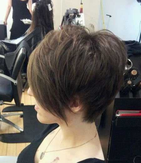 hair that is asymetric in back pictures of short haircuts with bangs short hairstyles