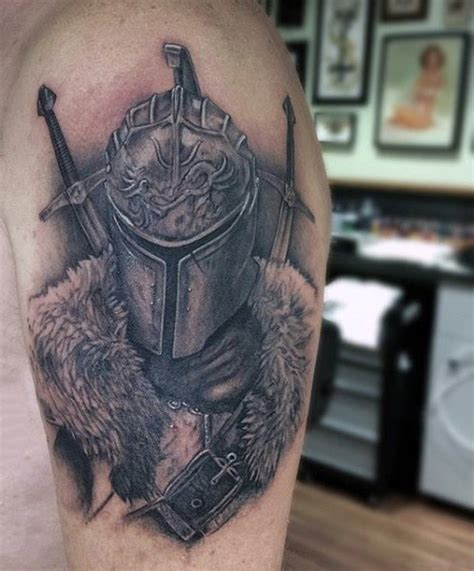 top 80 best knight tattoo designs for men brave ideas