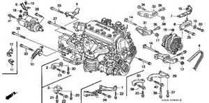 Honda Civic 98 Parts Honda Store 1998 Civic Alternator Bracket