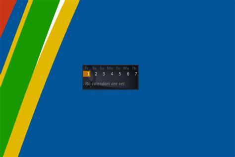 windows live calendar windows 10 gadget win10gadgets