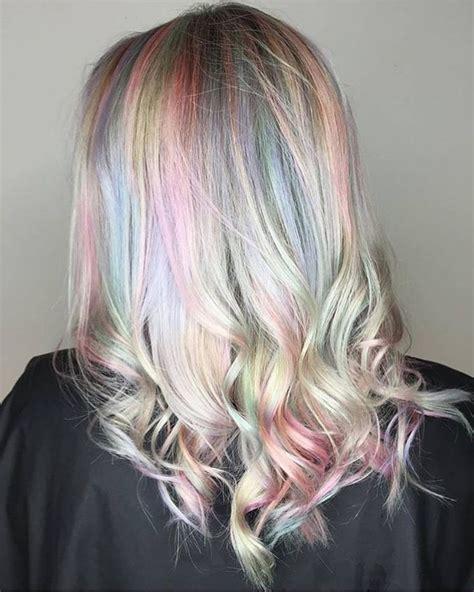 unicorn hair balayage unicorn hair