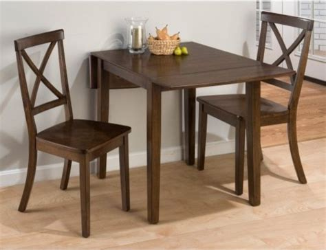 Small Drop Leaf Dining Table Set Jofran 3 Small Drop Leaf Dinette Set Modern Dining Tables By Hayneedle