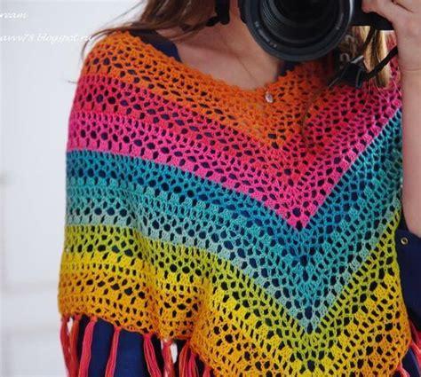 crochet shawls crochet poncho for spring free pattern stylish easy crochet crochet poncho pattern delightful