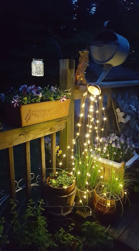 decorate  garden   awesome diy glowing