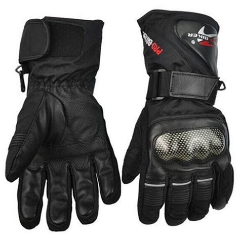winter motocross gloves leather gloves motorbike motorcycle gloves winter