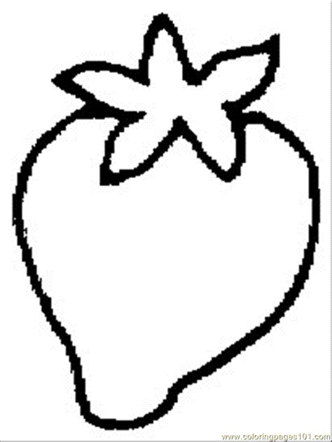 strawberry 7 coloring page free strawberry coloring