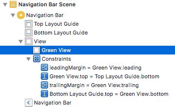 xcode top layout guide not showing safe area layout guide