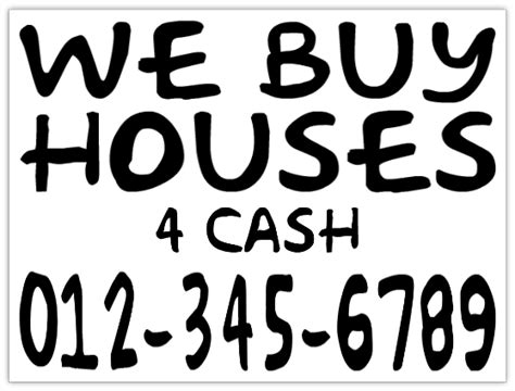 we buy houses bandit signs investor we buy houses sign handwritten bandit signs