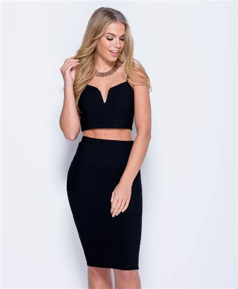 Crop Skirt bralet crop top midi skirt co ord skirt see me in that
