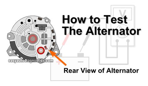 how to bench test an alternator how to test diode alternator 28 images image gallery how alternator charges
