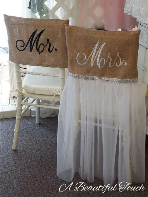 Best 25  Burlap chair sashes ideas on Pinterest   Wedding