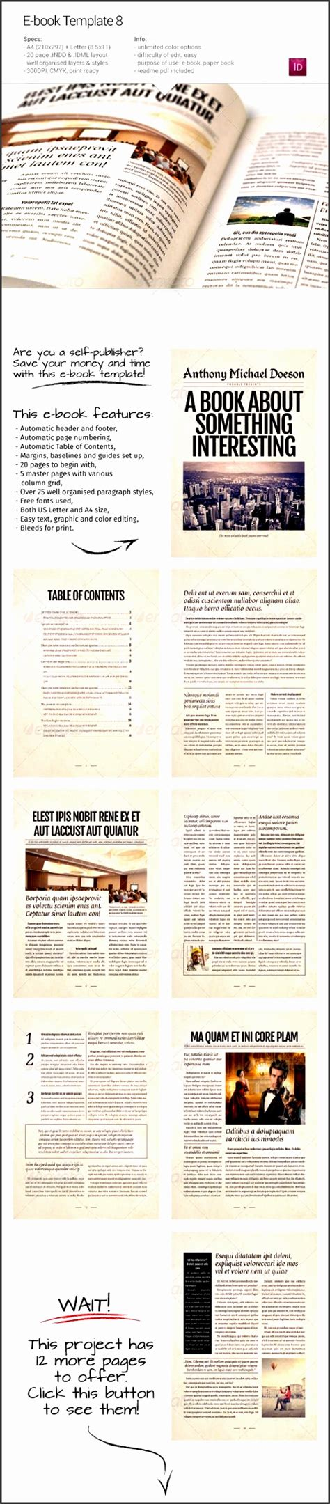 cookbook table of contents template 10 book table of contents template sletemplatess