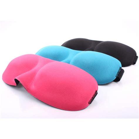 3d Travel Eye Mask 1pc 3d eye mask travel sleeping soft cover shade blindfold