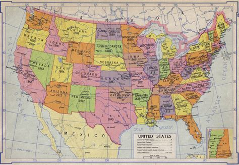 atlas map of usa states american history atlas