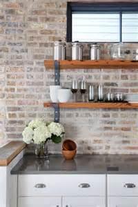 brick backsplashes for kitchens brick kitchen backsplash practical and really stylish