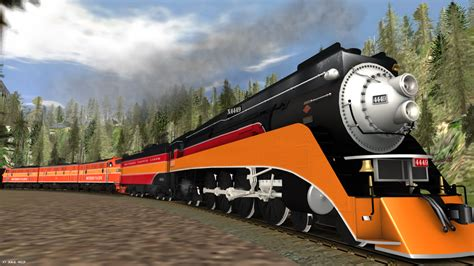 Daylight L by Southern Pacific Gs4 Daylight 4449 Visits By Matt3985 On