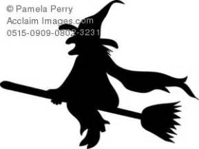 witch silhouette template witch template
