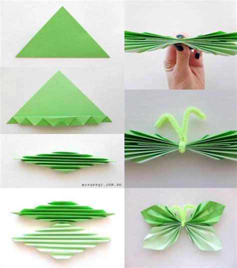 cara membuat bunga menggunakan kertas warna kerajinan tangan kupu kupu dari kertas dan cara membuatnya