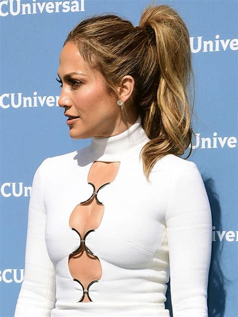 j lo ponytail hairstyles 7 ways to pump up your pony this summer jennifer lopez