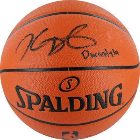 Bola Basket Spalding All Conference Indoor Outdoor kevin durant signed basketball spalding indoor outdoor