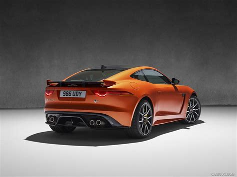 jaguar j type 2017 2017 jaguar f type svr coupe rear hd wallpaper 28