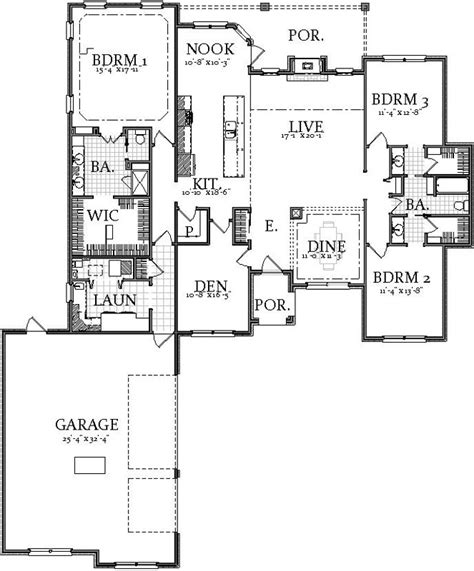 2400 square foot house plans traditional style house plans 2400 square foot home 1
