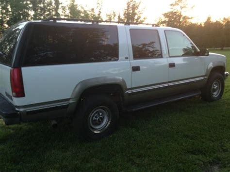 how does cars work 1998 chevrolet suburban 2500 lane departure warning purchase used 1998 chevrolet suburban 2500 turbo diesel 4wd tow package rare very nice in glen
