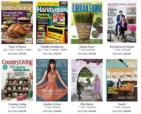 discountmags magazine subscriptions the best deals discountmags 2 magazine subscriptions for only 10