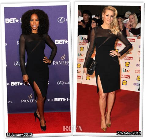 Who Wore Pucci Better by Who Wore Emilio Pucci Better Rowland Or Tess Daly