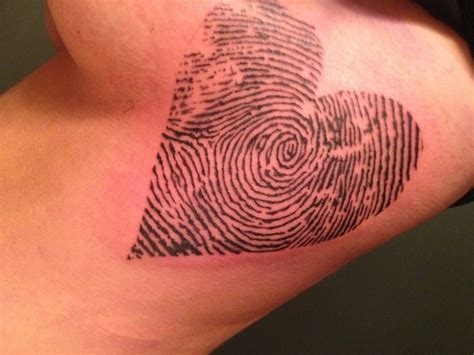 fingerprint heart tattoo 176 best images about on disney thumb