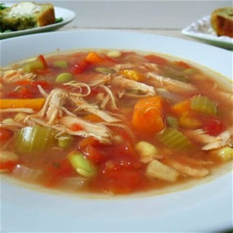 chicken broth soup recipe vegetable cooking crock pot chicken vegetable soup recipe