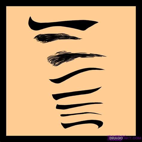 Drawing Eyebrows by How To Draw Eyebrows Step By Step Free