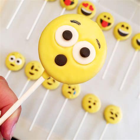 cookie emoji emoji oreo pops easybaked