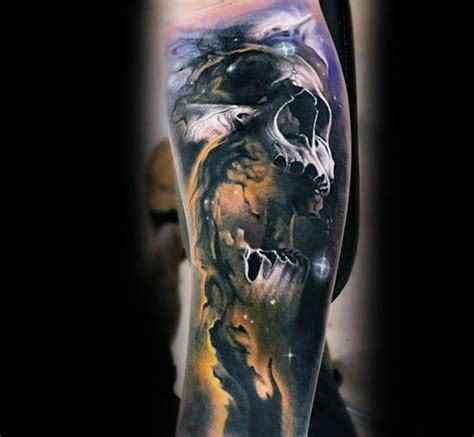 60 morph tattoo designs for men blended ink ideas