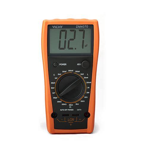 inductance meter fluke vichy dm4070 lcr inductance capacitance resistance 2000uf compared fluke meter ebay