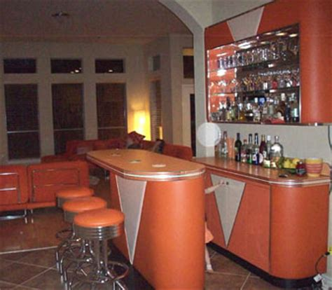 Retro Bar: Vintage, Wine Rack, Living Room, Custom